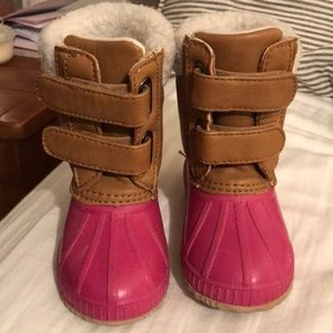 Toddler girl snow boots!